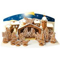 Szopka bożonarodzeniowa z piernika zestaw foremek do wykrawania |  delicia, marki Tescoma