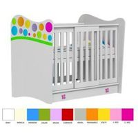 Łóżeczko 120x60 RAINBOW Baby, 7B73-447C7
