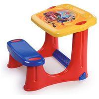 Stolik z ławeczką  strażak sam stolik z krzesełkiem marki Smoby