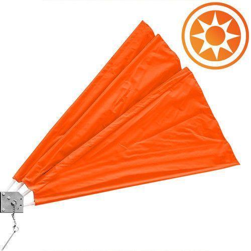 Gdzie kupić Wideshop Wachlarz osłona balkonowa na balkon markiza orange - pomarańczowy