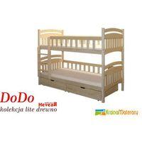 Łóżko piętrowe dodo 200x80 marki Hevea