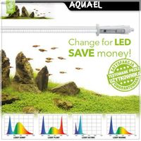 Aquael LEDDY TUBE RETROFIT 16W LED SUNNY (85-90cm) - Oświetlenie akwariowe
