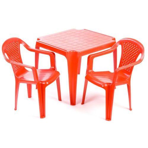 Gdzie kupić Grand Soleil Stolik i dwa krzesła dla dzieci, czerwone