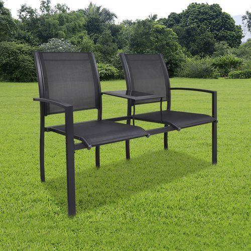 Gdzie kupić metalowe krzesła ogrodowe z mini stolikiem marki Vidaxl