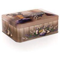 lavender blaszane pudełko do herbaty, marki Banquet