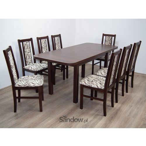 Stół Wenus II L 80x140 do 180 plus 8 krzeseł BOSS XIV, kup u jednego z partnerów