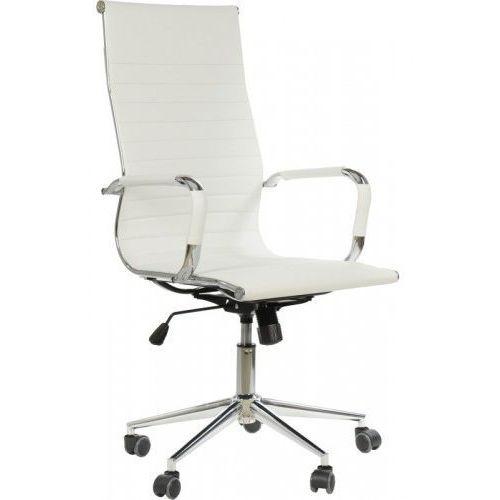 Fotel obrotowy ne-632h biały - biurowy, gabinetowy - krzesło obrotowe, marki Ne-fotele
