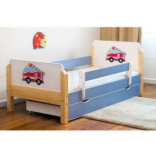 Łóżko dziecięce drewniane Kocot-Meble BABYDREAMS STRAŻ POŻARNA Kolory Negocjuj Cenę - produkt z kategorii- Łóżeczka i kołyski