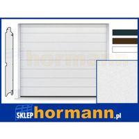 Brama RenoMatic 2017, 2375 x 2125, Przetłoczenia M, Sandgrain, kolor do wyboru: biały, brązowy, antracytowy