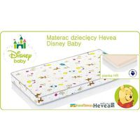 MATERAC WYSOKOELASTYCZNY HEVEA DISNEY BABY 140x70
