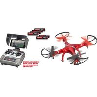 Carrera Rc quadrocopter live streaming -