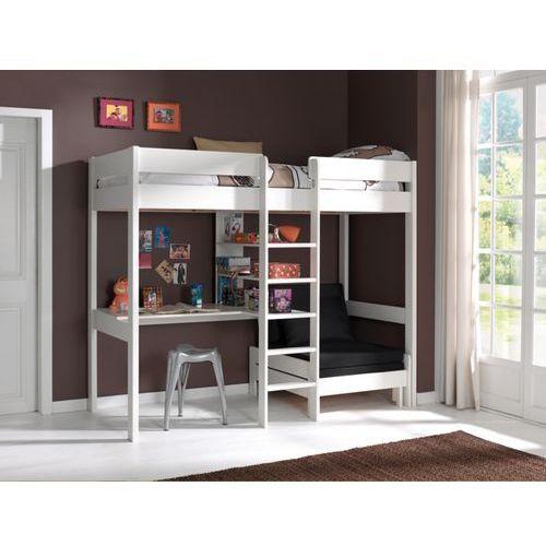 Łóżko piętrowe drewniane dla dziecka Pino Sofabed - biała (5420070214490)