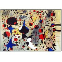 The nightingale's song at midnight and the morning rain - Joan Miro