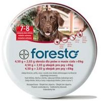 BAYER Foresto - Obroża przeciw pchłom i kleszczom dla dużych psów (dł. 70cm) z kategorii Obroże dla psów
