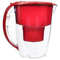 Aquaphor Dzbanek filtrujący  amethyst 2,8 l czerwony + 1 wkład b100-25 maxfor (4744131010496)