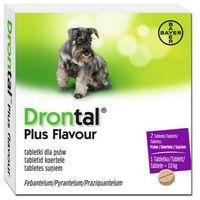 BAYER Drontal Plus Flavour tabletki na odrobaczenie dla psów z kategorii Witaminy dla psów