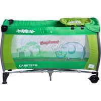 Łóżeczko turystyczne  safari elephant zielony + darmowy transport! marki Caretero