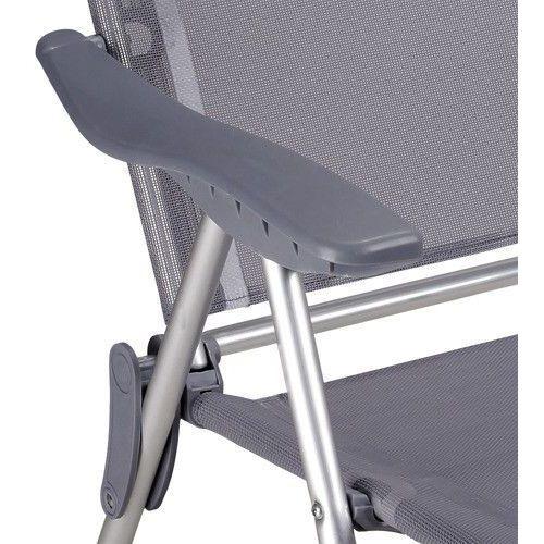 4 x fotel turystyczny krzesło ogrodowy aluminiowe, marki Wideshop