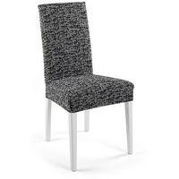 """Pokrowiec na krzesła """"Malta"""" bonprix czarno-biały"""