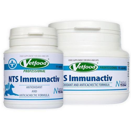 VETFOOD NTS Immunactiv Anticancer 30/90kaps.