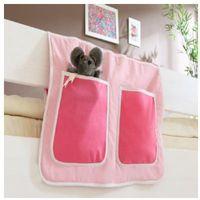 Ticaa organizer do łóżek piętrowych kolor różowy marki Ticaa kindermöbel