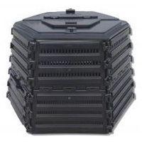 Ekokompostownik  termo xl-1400 czarny marki Ekobat