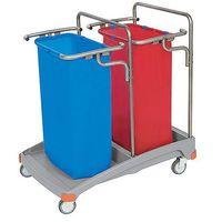 Splast Wózek na odpady podwójny 2x120l tso-0005  (5907781421466)