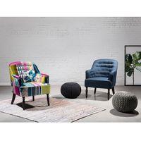 Beliani Fotel gratatowy - fotel wypoczynkowy - do salonu - tapicerowany - mandal