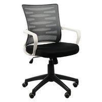 Krzesło biurowe obrotowe KB-2022 szary/SZARY