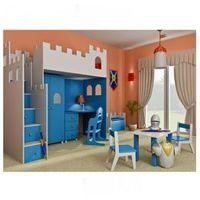 Zestaw mebli dziecięcych ZAMEK, niebieski